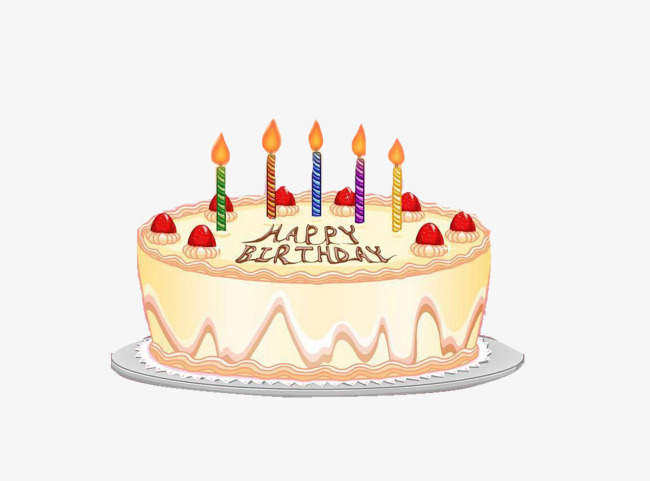 Colorful Birthday Cake Birthday Clipart Cake Clipart Birthday Png