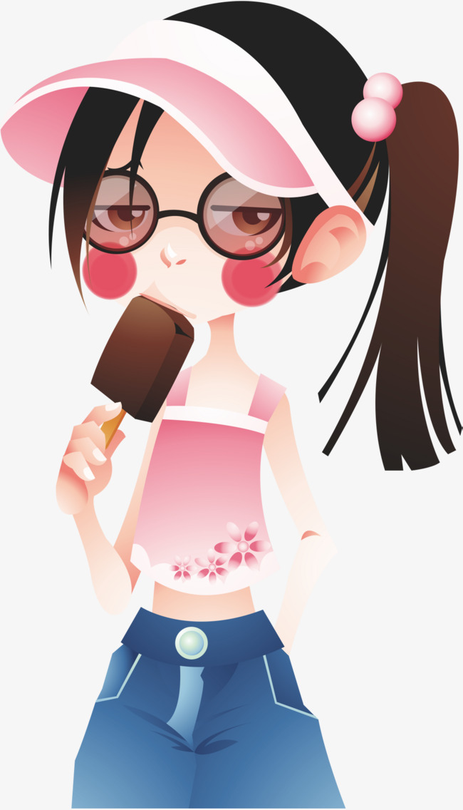 Видео девочка ест мороженое хуй