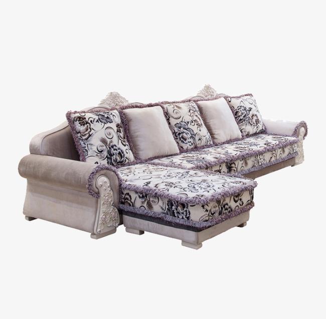 Salon de canap d angle de rotation villa mod le combinaison de canap lit le sofa en forme de - Modele de canape ...