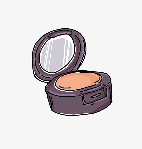 Kosmetik Kleine Spiegel Frauen Kosmetik Png Und Vektor Zum