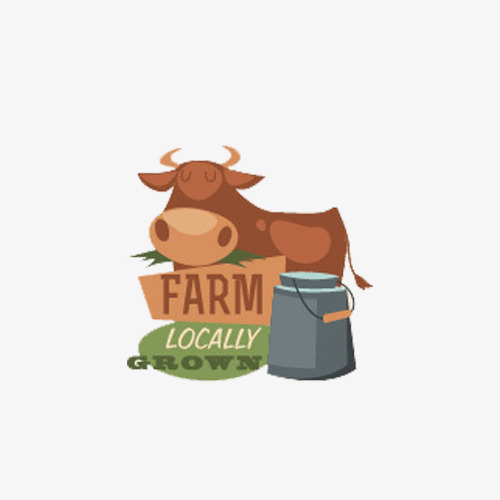 Cow Flat Cow Clipart Cattle Dairy Cow Png Image And Clipart For