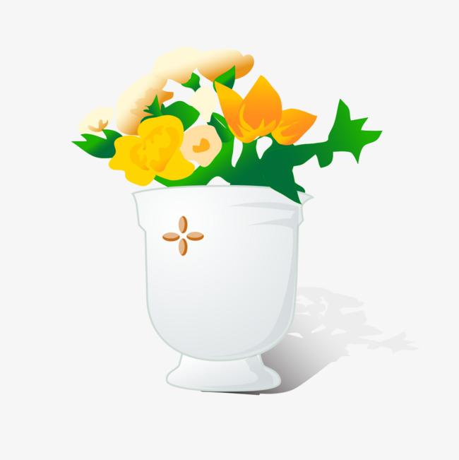 Creative Beautiful Flower Pots Flower Clipart Pretty Flower Pot