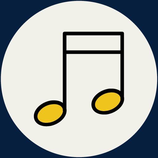 Creative Cartoon Music Note Symbol Image Cartoon Clipart Music