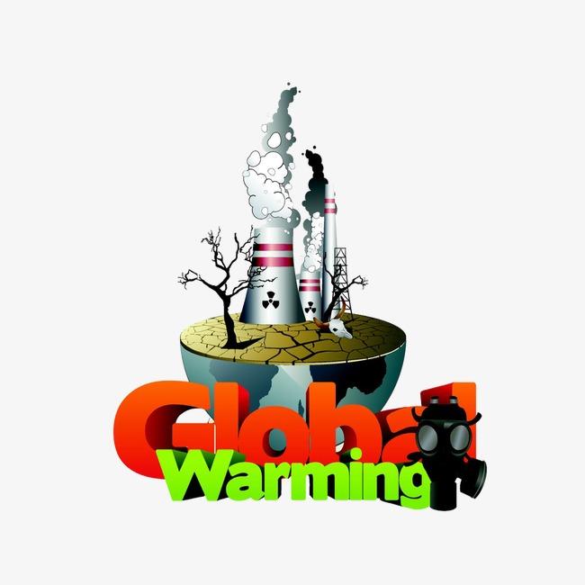 Creative Verde Ilustración La Contaminación Ambiental La Fábrica De