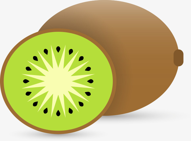 Creative Kiwi, Kiwi Clipart, Fruit, Food PNG Image and ... (642 x 475 Pixel)