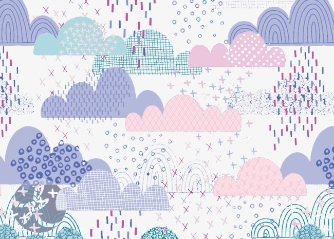 Creative Personality Hand Painted Background Creative Design
