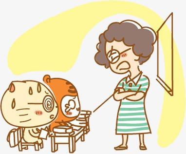 Día Del Maestro Creativo Personajes De Dibujos Animados Estudiante