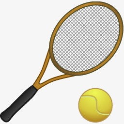 creative tennis tennis clipart tennis tennis racket png image and rh pngtree com Tennis Racket Clip Art Black and White Cute Tennis Clip Art