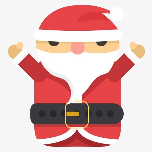 Petit Papa Noël Dessin De Peints à La Main Petit Papa Noël La Petite