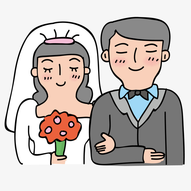 Joli Couple Mignon Couple Dessin Png Et Vecteur Pour Telechargement