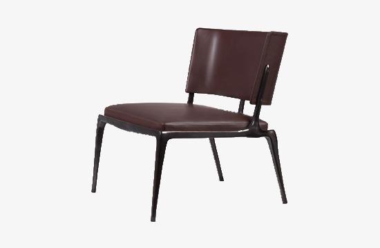 Café noir de chaise de bureau simple brun foncé décoration fichier