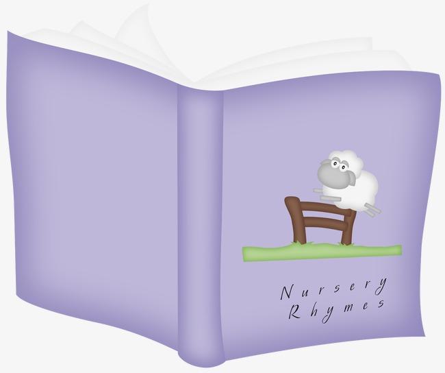 Dekorative Bücher dekorative bücher buch lila cartoon hand png und psd datei zum