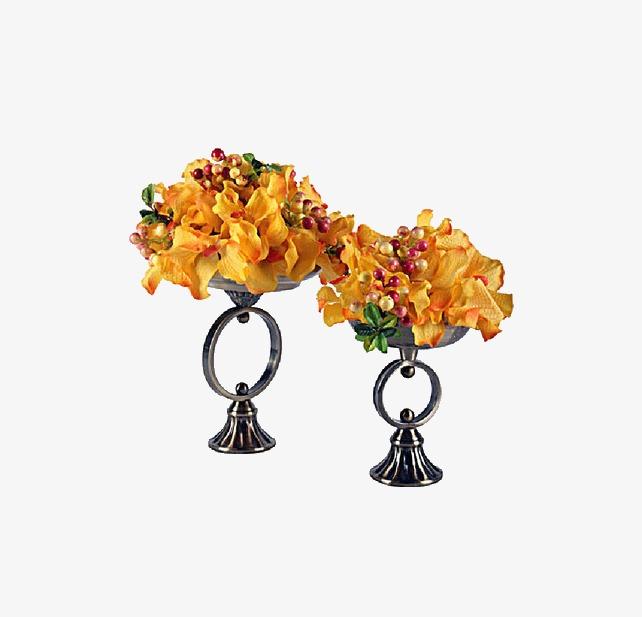 Decoration De Fleurs Sechees Fleur Sechee Jaune Decoration Image Png