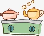 Watak Hiasan Tangan Dicat Dapur Gambar Kartun Cute Unsur Muppet Imej Dan Clip Png