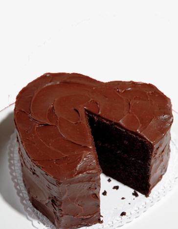 Dessert Cake Heart Shaped Cake Chocolate Cake Birthday Cake Png
