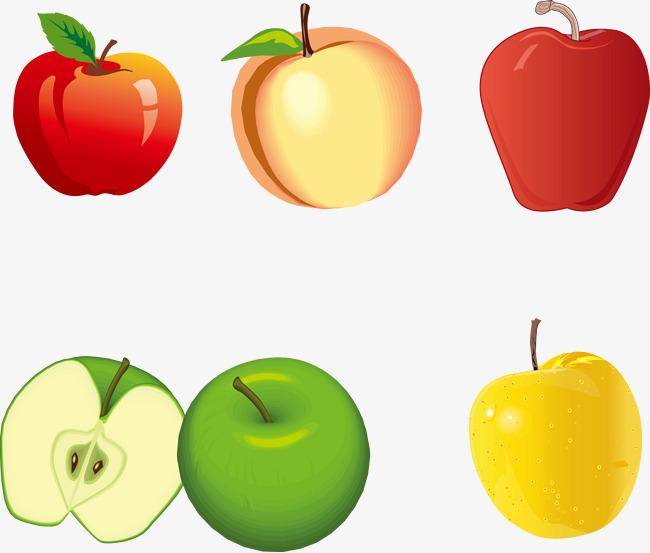 Diferentes Colores Y Tipos De Manzanas Apple Color Diferentes PNG y ...