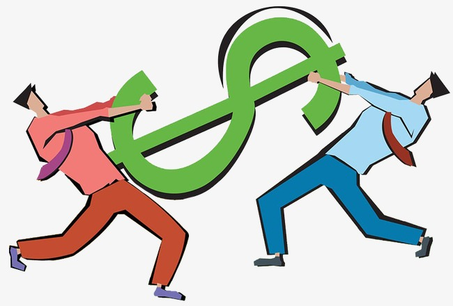 Signo De Dólar Cartoon Pintado A Mano Dólar Archivo PNG