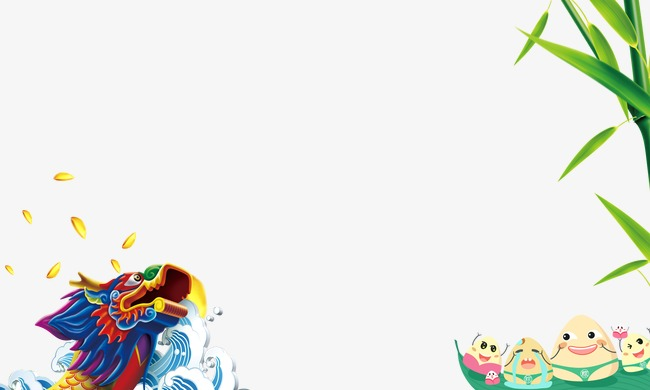 Dragon Boat Festival, Dragon Promotions, Boat, Bamboo PNG and PSD ...