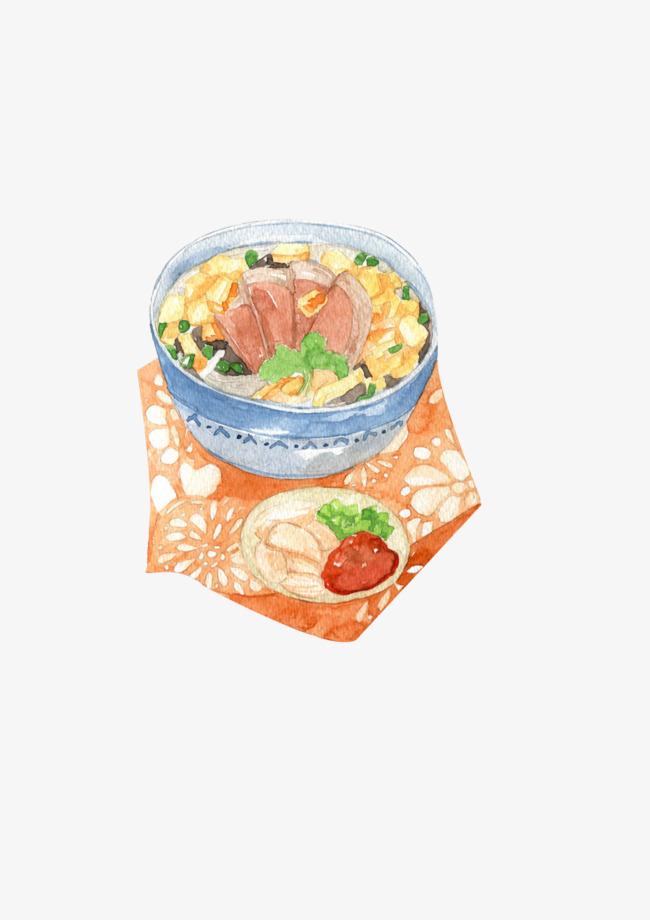 Draw A Bowl Of Noodles Effect Element Draw Noodles Effect Png