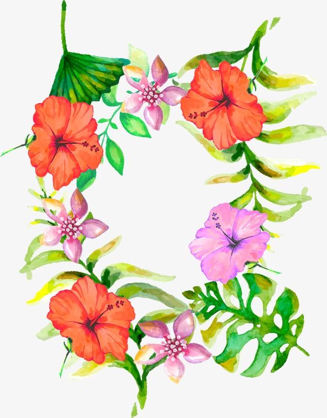 Dibujo Realista Flores Decorativas De Estetica Acuarela Realismo