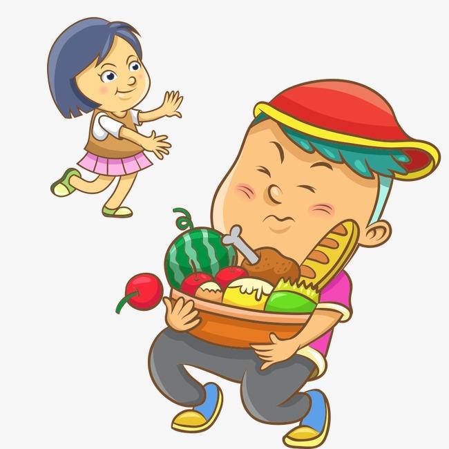 gourmand gourmand les enfants le mat u00e9riau de dessin d enfants fichier png et psd pour le