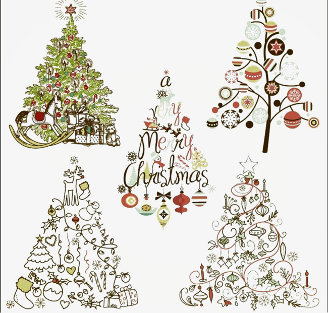 elegant christmas tree icon tree clipart christmas tree plain jane png image and - Elegant Christmas