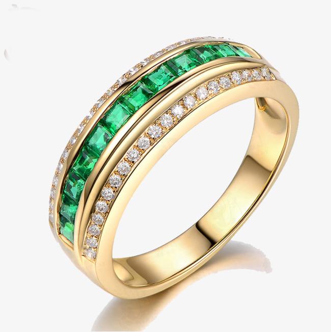 เพชรมรกต: แหวนมรกต แหวนเพชร สีเขียว เครื่องประดับ ภาพ PNG สำหรับการ