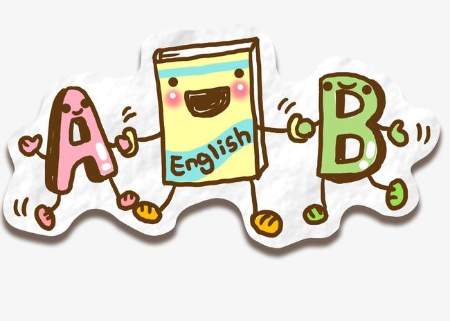 en anglais de symboles lettres peint  u00e0 la main animation