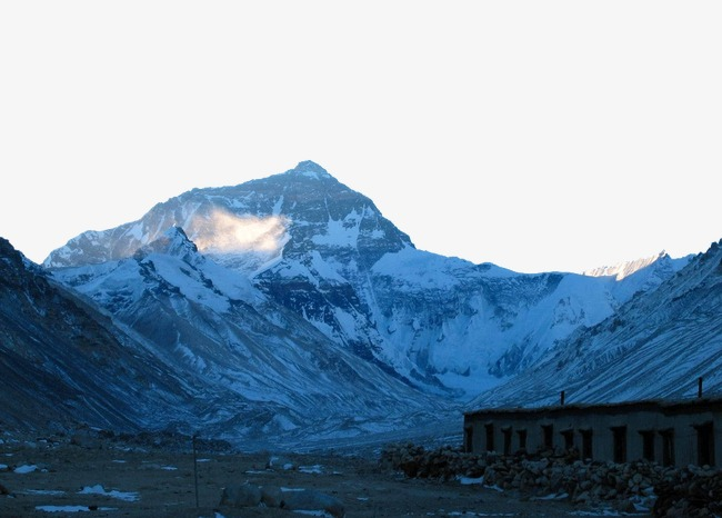 Everest Indah Tempat Tempat Terkenal Tarikan Pelancong Tibet Gunung