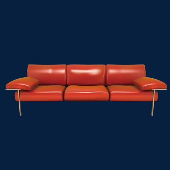 Exquisite Leather Sofas Fine Sofa Furniture Png And Vector