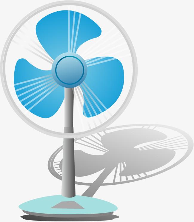 Fan Cartoon, An Electric Appliance, Cartoon, Product ...
