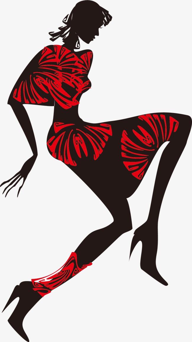 fashion silhouette description - 650×1155