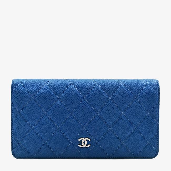 La femme de sacs chanel bleu de portefeuille en cuir Gratuit PNG et Clipart 071303cffb4