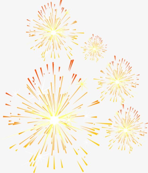 Festival De Fuegos Artificiales Fuegos Artificiales Rojo Amarillo