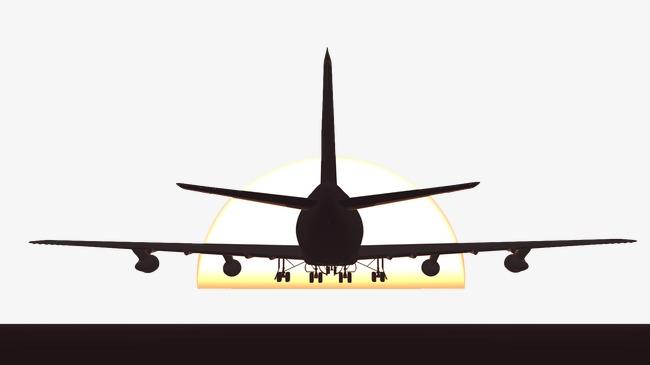 le diagramme de d u00e9collage d un avion le d u00e9collage de l a u00e9ronef le coucher de soleil avion image