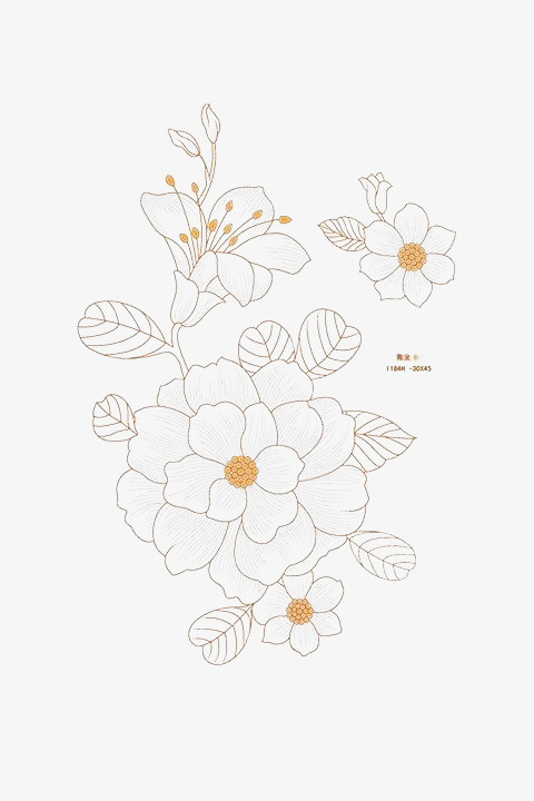 Fig simple elegant white flowers yellow flower stick figure fig simple elegant white flowers yellow flower stick figure fragrance png image and mightylinksfo