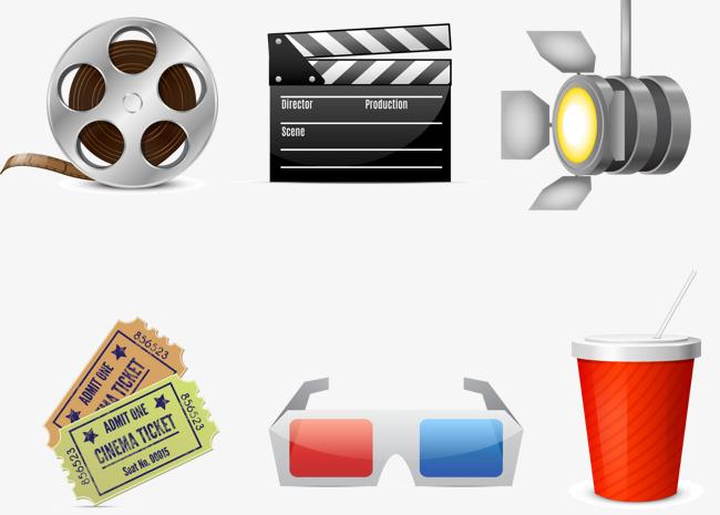 L ment de film boisson lunettes des tickets de cin ma png - Clipart cinema gratuit ...