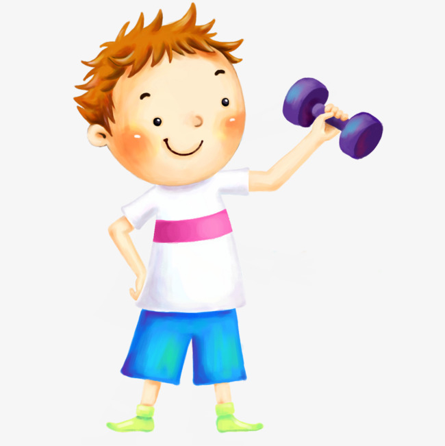 Fitness Children, Fitness Clipart, Children Clipart, Child ...