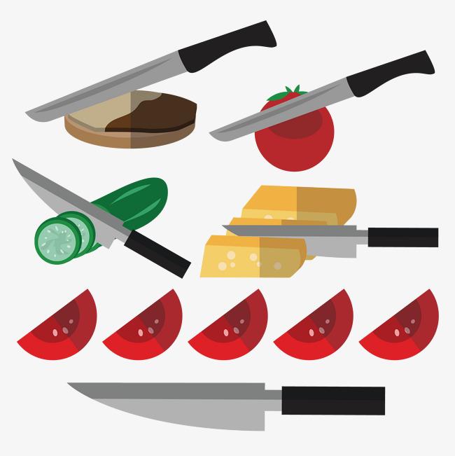 Rata Roti Pisau Steak Dan Sayur Sayuran Pera Png Vr