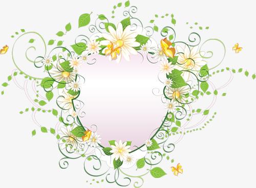 Des Fleurs En Matière De Bordure Des Fleurs Et Des Plantes