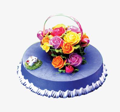 Blumen Creme Torte Kaffee Und Kuchen Kuchen Kuchen Png Bild Und