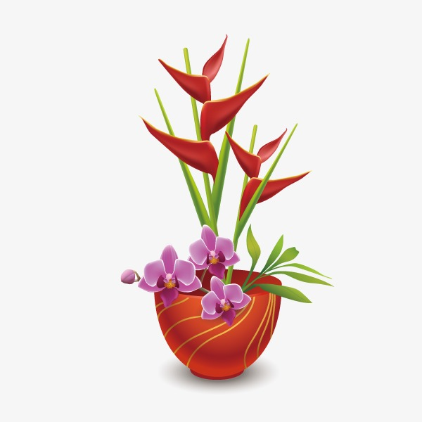 Flowers Home Decoration Home Vector Decoration Vector Flowers Png