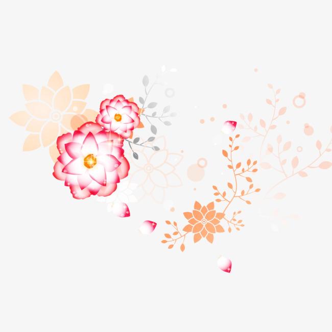 Les Fleurs Eclosent Les Fleurs Peint A La Main Dessin Fichier Png Et