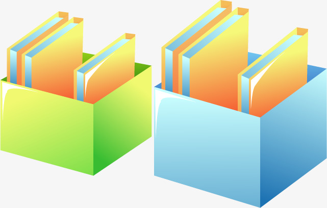 Folders Box, Folder, Office Supplies, Business PNG and