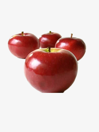 four apples fruits element apple christmas eve png image and