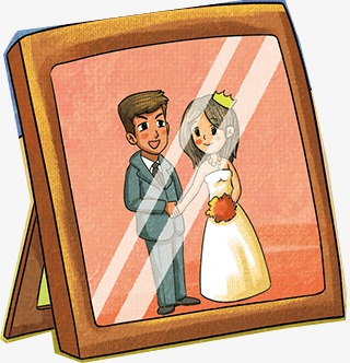 Frame Frame Clipart Cartoon Frames Husband And Wife Png Image And