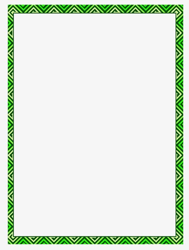 bordure bordure cadre vert image png pour le