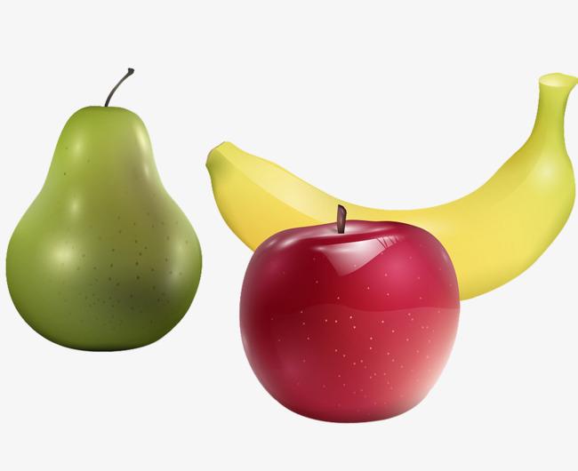 Яблоко и банан и член