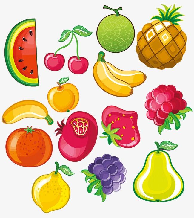 Fruits fruits couleur dessin fichier png et psd pour le - Dessins fruits ...