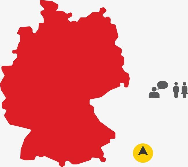 La Carte De Visite Terrain L Allemagne Gratuit PNG Et Vecteur
